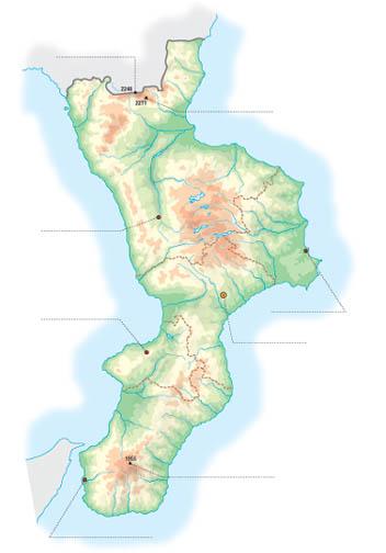 Cartina Calabria Muta.Mappa Muta Calabria